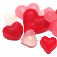 Stärke Herzen-Mischung