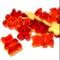 Fruchtsaft-Rote Grütze Bären
