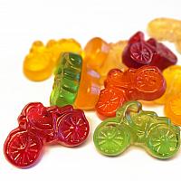 Fruchtsaft Fahrräder 30% zuckerreduziert