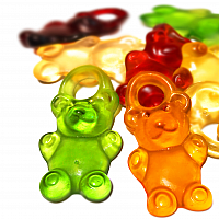 Fruchtsaft-Riesenbären