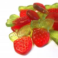 Fruit-Snäcks Erdbeer-Rhabarber