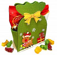 Filztasche Weihnachten gefüllt