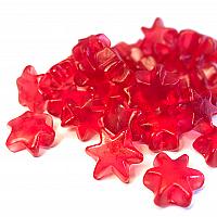 Glühweinsterne rot